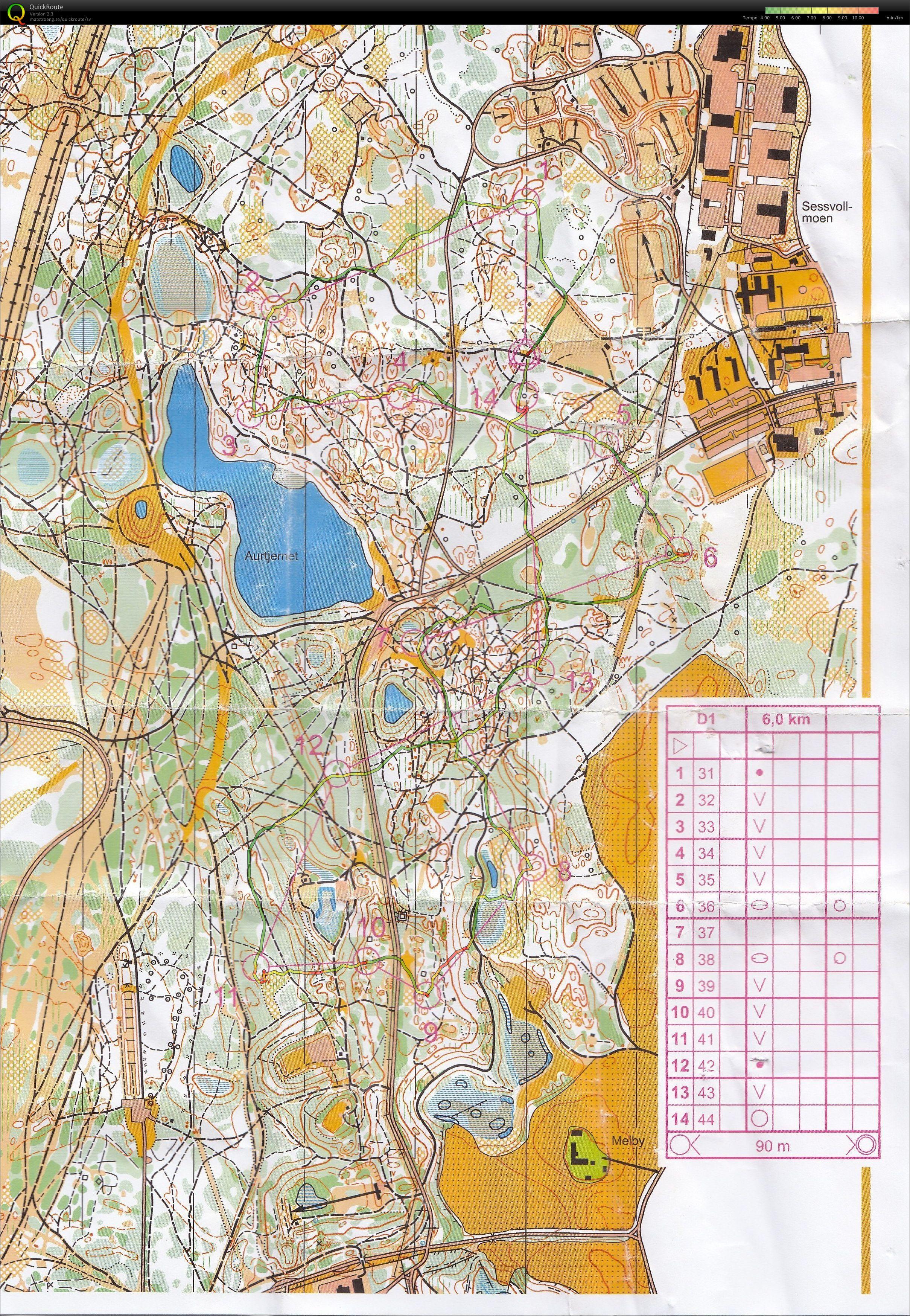 sessvollmoen kart Presisjonsorienteringsguttas blogg: Norgescupen avsluttes på