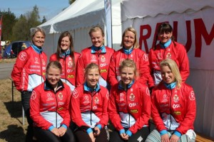 Damelagene Tiomila 2011