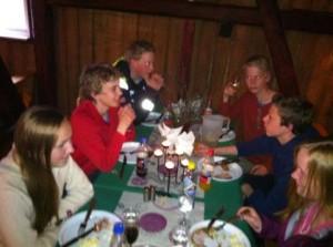Middag på Bjørnholt