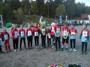 Raumar hadde 15 av de drøyt 140 deltakerne i lagkonkurransen!