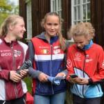 Hedda løp inn til Bronse i KM (foto AOOK)