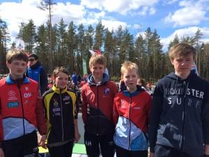 Øistein, Stian, Anders, Gaute og Even